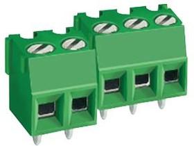 MC000045, Клеммная колодка типа провод к плате, 3.81 мм, 3 вывод(-ов), 26 AWG, 16 AWG, Винт