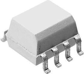 Фото 1/2 HCPL0601R2, Оптопара, с цифровым выходом, 1 канал, 3.75 кВ, 10 Мбит/с, SOIC, 8 вывод(-ов)