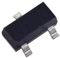 2N3904, Биполярный транзистор, NPN, 40 В, 300 МГц, 625 мВт, 200 мА, 30 hFE