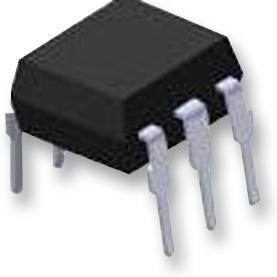 4N27, Оптопара, с транзистором на выходе, 1 канал, DIP, 6 вывод(-ов), 60 мА, 5 кВ, 10 %