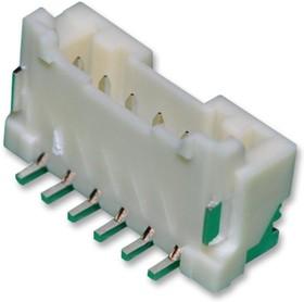 Фото 1/2 BM06B-PASS-1-TFT(LF)(SN), Разъем типа провод-плата, 2 мм, 6 контакт(-ов), Штыревой Разъем, Серия PA, Поверхностный Монтаж