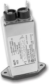 20EJT1, IEC фильтр, 250 В AC, От Электромагнитных Помех, от Радиопомех, 20 А, Быстрое Соединение, 91 мкГн