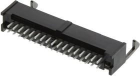 Фото 1/3 1-1761606-1, Разъем типа провод-плата, 2.54 мм, 34 контакт(-ов), Штыревой Разъем, AMP-LATCH Series