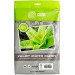 Фотобумага Cactus CS-GA418050ED A4/180г/м2/50л./белый глянцевое для струйной печати