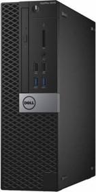 Компьютер DELL Optiplex 5040, Intel Core i5 6500, DDR3L 4Гб, 500Гб, Intel HD Graphics 530, DVD-RW, Linux, черный и (5040-9990)