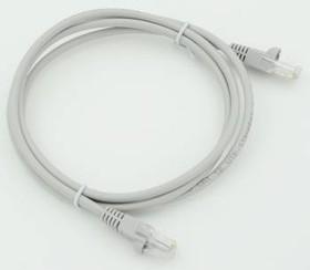 Патч-корд литой (molded), UTP, cat.5E, 1.5м, 1 шт, серый