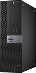 Компьютер DELL Optiplex 5040, Intel Core i7 6700, DDR3L 8Гб, 500Гб, Intel HD Graphics 530, DVD-RW, Windows 7 (5040-0033)