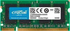 Модуль памяти CRUCIAL CT51264AC800 DDR2 - 4Гб 800, SO-DIMM, Ret