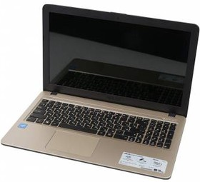 "Ноутбук ASUS R540SA-XX036T, 15.6"", Intel Celeron N3050, 1.6ГГц, 2Гб, 500Гб, Intel HD Graphics , Windows 10, черный [90nb0b31-m00840]"