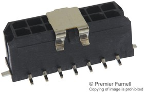 Фото 1/2 43045-1418, Разъем типа провод-плата, 3 мм, 14 контакт(-ов), Штыревой Разъем, Micro-Fit 3.0 43045 Series