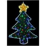 LI151643, 1MX70CM XMAS TREE TINSEL LIGHT