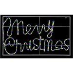 LI184901M, 105X60CM MERRY CHRISTMAS NEON LIGHT