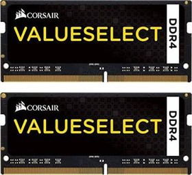 Модуль памяти CORSAIR CMSO16GX4M2A2133C15 DDR4 - 2x 8Гб 2133, SO-DIMM, Ret