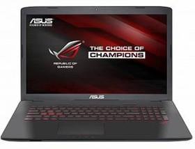 """Ноутбук ASUS GL752VW-T4505T, 17.3"""", Intel Core i7 6700HQ, 2.6ГГц, 8Гб, 1000Гб, 256Гб SSD, nVidia GeForce GTX 960M - (90NB0A42-M07050)"""