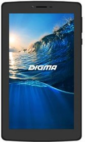 Планшет DIGMA Plane 7006 4G, 1GB, 8GB, 3G, 4G, Android 5.1 черный [ps7041ml / ps7041pl]