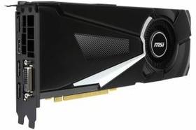 Видеокарта MSI GTX 1080 AERO 8G OC, 8Гб, GDDR5X, OC, Ret