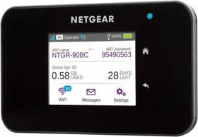 Точка доступа NETGEAR AC810-100EUS, черный