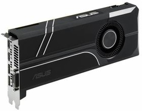 Видеокарта ASUS GeForce GTX 1060, TURBO-GTX1060-6G, 6Гб, GDDR5, Ret