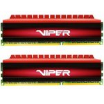 Модуль памяти PATRIOT Viper 4 PV416G266C5K DDR4 - 2x 8Гб ...