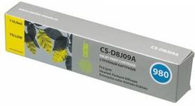 Картридж CACTUS CS-D8J09A №980, желтый