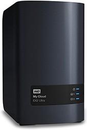 Сетевое хранилище WD My Cloud EX2 Ultra WDBSHB0000NCH-EEUE, без дисков