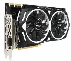 Видеокарта MSI GTX 1080 ARMOR 8G OC, 8Гб, GDDR5X, OC, Ret