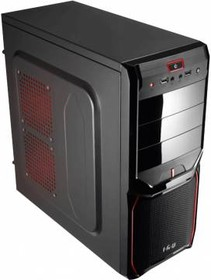 Компьютер IRU Office 311, Intel Celeron G1840, DDR3 4Гб, 500Гб, Intel HD Graphics, Free DOS, черный [361900]