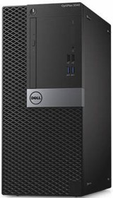 Компьютер DELL Optiplex 3046, Intel Pentium G4400, DDR4 4Гб, 500Гб, Intel HD Graphics 510, DVD-RW, Windows 7 (3046-0124)