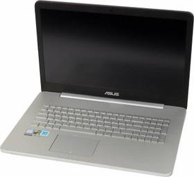 """Ноутбук ASUS N752VX-GC275T, 17.3"""", Intel Core i5 6300HQ, 2.3ГГц, 8Гб, 1000Гб, 128Гб SSD, nVidia GeForce GTX 950M - (90NB0AY1-M03330)"""