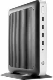 Тонкий клиент HP t630, AMD GX-420Gl, DDR4 4Гб, 8Гб(SSD), AMD Radeon R6E, HP ThinPro, черный и серебристый [x4x18aa]