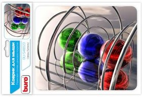 Коврик для мыши BURO BU-S48023 рисунок/сферы