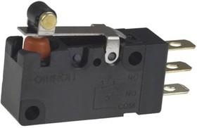 D2VW-01L2A-1, Switch,SPDT,roller lever