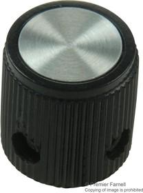 EH71-0N1S, Ручка, Круглый Вал, 3.175 мм, АБС-пластик (Акрилонитрилбу тадиенстирол), Круглая, 12.7 мм, EH Series
