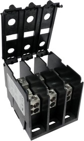 1323570CH, TB W/COVER, PWR DISTRIBUTION, 3P, 2/0AWG