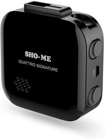 Фото 1/5 Радар-детектор Sho-Me Quattro Signature GPS приемник черный