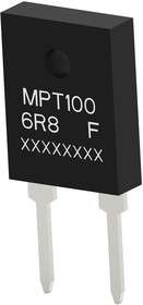 Фото 1/3 MPT100C5K6F, Резистор в сквозное отверстие, 5.6 кОм, MPT Series, 100 Вт, ± 1%, TO-247, 700 В