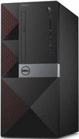 Компьютер DELL Vostro 3650, Intel Core i3 6100, DDR3 4Гб, 500Гб, Intel HD Graphics 530, DVD-RW, CR, Linux, черный [3650-0267]