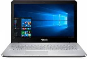"""Ноутбук ASUS N552VW-FY253T, 15.6"""", Intel Core i5 6300HQ, 2.3ГГц, 8Гб, 1000Гб, 128Гб SSD, nVidia GeForce GTX 960M - (90NB0AN1-M03150)"""