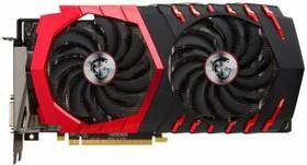 Видеокарта MSI Radeon RX 480 GAMING X 4G, RX 480 GAMING X 4G, 4Гб, GDDR5, OC, Ret