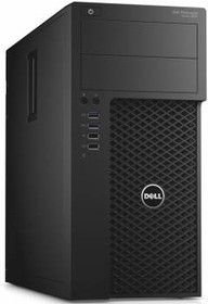 Рабочая станция DELL Precision 3620, Intel Xeon E3-1220 v5, DDR4 8Гб, 1000Гб, 256Гб(SSD), nVIDIA Quadro K1200 - 4096 Мб (3620-0194)