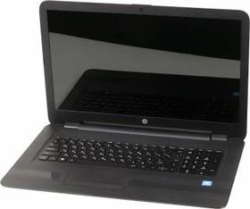 "Ноутбук HP 17-x004ur, 17.3"", Intel Pentium N3710, 1.6ГГц, 4Гб, 500Гб, Intel HD Graphics 405, DVD-RW, Free DOS, черный [w7y93ea]"