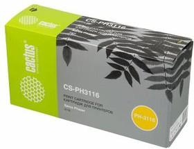 Картридж CACTUS CS-PH3116 109R00748, черный
