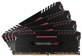 Модуль памяти CORSAIR Vengeance LED CMU64GX4M4C3000C15R DDR4 - 4x 16Гб 3000, DIMM, Ret