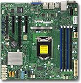 Серверная материнская плата SUPERMICRO MBD-X11SSM-F-O, Ret