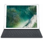 Клавиатура APPLE Smart Keyboard, iPad Pro 12.9 черный [mnkt2rs/a]