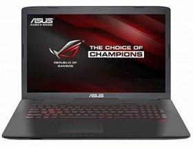 """Ноутбук ASUS GL752VW-T4347T, 17.3"""", Intel Core i7 6700HQ, 2.6ГГц, 8Гб, 1000Гб, 512Гб SSD, nVidia GeForce GTX 960M - (90NB0A42-M04810)"""
