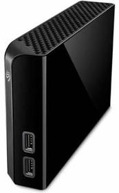 Внешний жесткий диск SEAGATE Backup Plus Hub STEL4000200, 4Тб, черный
