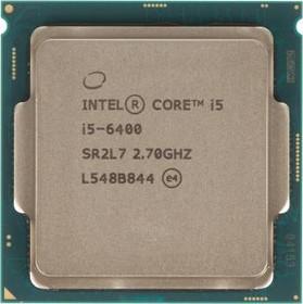 Процессор INTEL Core i5 6400, LGA 1151 * BOX [bx80662i56400 s r2l7]