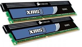 Модуль памяти CORSAIR XMS3 CMX8GX3M2A1333C9 DDR3 - 2x 4Гб 1333, DIMM, Ret