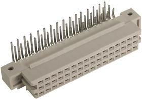 09282486804, Разъем DIN 41612, 48 контакт(-ов), Гнездо, 2.54 мм, 3 ряда, a + b + c